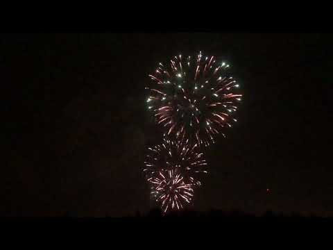 Canada Day Fireworks Kamloops   2018