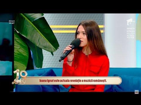 """Ioana Ignat, apariție spectaculoasă la Neatza: """"Dedic foarte mult timp muzicii"""""""