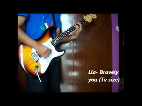 Guitar guitar tabs tv : Charlotte Op Lia- Bravely you (Tv size) guitar cover (+Tabs) - YouTube