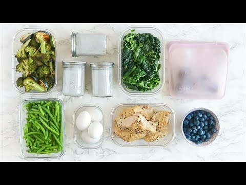 EASY Meal Prep | paleo healthy meal ideas