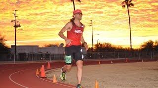 Zach Bitter 100 mile American Record 11:40:55 - Desert Solstice 2015