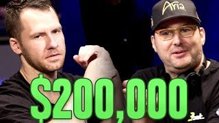 Jungleman vs. Phil Hellmuth: ROUND 1 | S6 E4 Poker Night In America