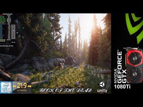 Book Of The Dead Interactive Demo Unity Engine 3440x1440 | GTX 1080 Ti | i7 8700K 5.2GHz