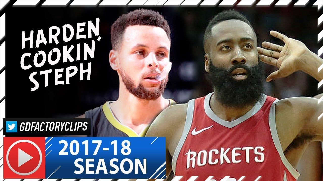 f1f2f8b07adc James Harden vs Stephen Curry SICK Duel Highlights (2018.01.20) Rockets vs  Warriors - CLUTCH Harden!