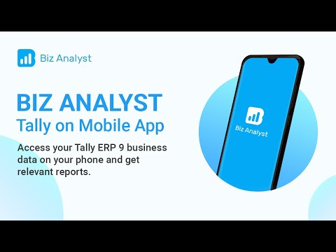 Biz Analyst Tally on Mobile App
