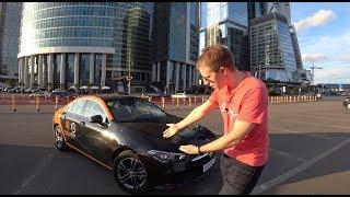 Mercedes-Benz CLA 2019 - новинка прямо в каршеринге Москвы!