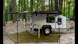 Hiker Trailer: 5 x 10 Mid Range with Bunk Beds