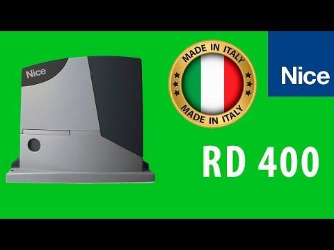 Автоматика для откатных ворот NICE RD 400
