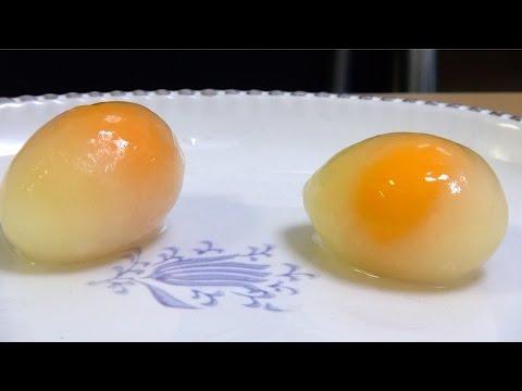 衝撃!生卵を冷凍すると美味しくなる!?冷凍卵