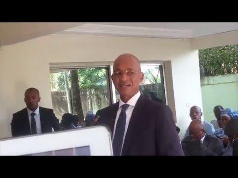 Conférence de presse de Cellou Dalein Diallo