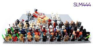 НАКОНЕЦ-ТО ЛЕГО ЗВЕЗДНЫЕ ВОЙНЫ! 70+ Новых Фигурок?! | LEGO-Распаковка #5