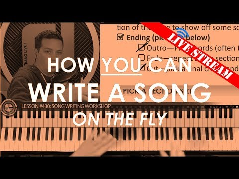 How To Write A Song on Piano (Chords, Melody, Lyrics)