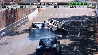2015 Australia & St. Petersburg Stadium SUPER Trucks NBC Sports