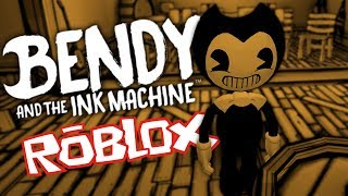 WEIRD BENDY UND DIE INK MACHINE LEVELS IN ROBLOX | BATIM Roblox Gameplay (BATIM Geheimnisse)