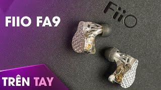 Trên tay FiiO FA9 – Tai nghe in-ear 6 driver BA, chỉnh được trở kháng và âm sắc