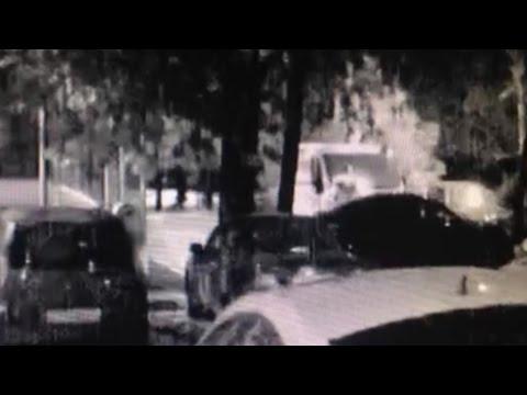 Поджог автомашины на севере Москвы