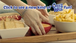 Come together with Cheez Whiz! thumbnail