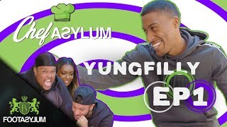 YUNG FILLY COOKS COWS TONGUE | CHEFASYLUM S3 | EP 1