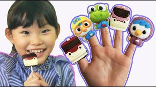 라임의 뽀로로 짜장면 떡뽁이 손가락 노래놀이  finger family Nursery Rhymes | Kids Songs | LimeTube