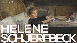 Helene Schjerfbeck: A collection of 130 paintings (HD)