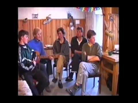 Экологическая школа. The ecological school at Medusa station. 2002.