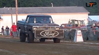 NWPA Truck and Tractor Pullers | Mercer Grange Fair | Limited Modified 4x4 Trucks