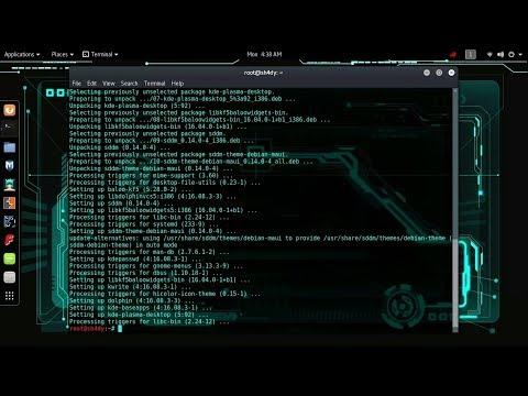 GNOME VS KDE Comparison Kali Linux 2019