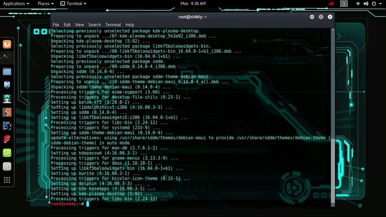 GNOME VS KDE Comparison Kali Linux 2019