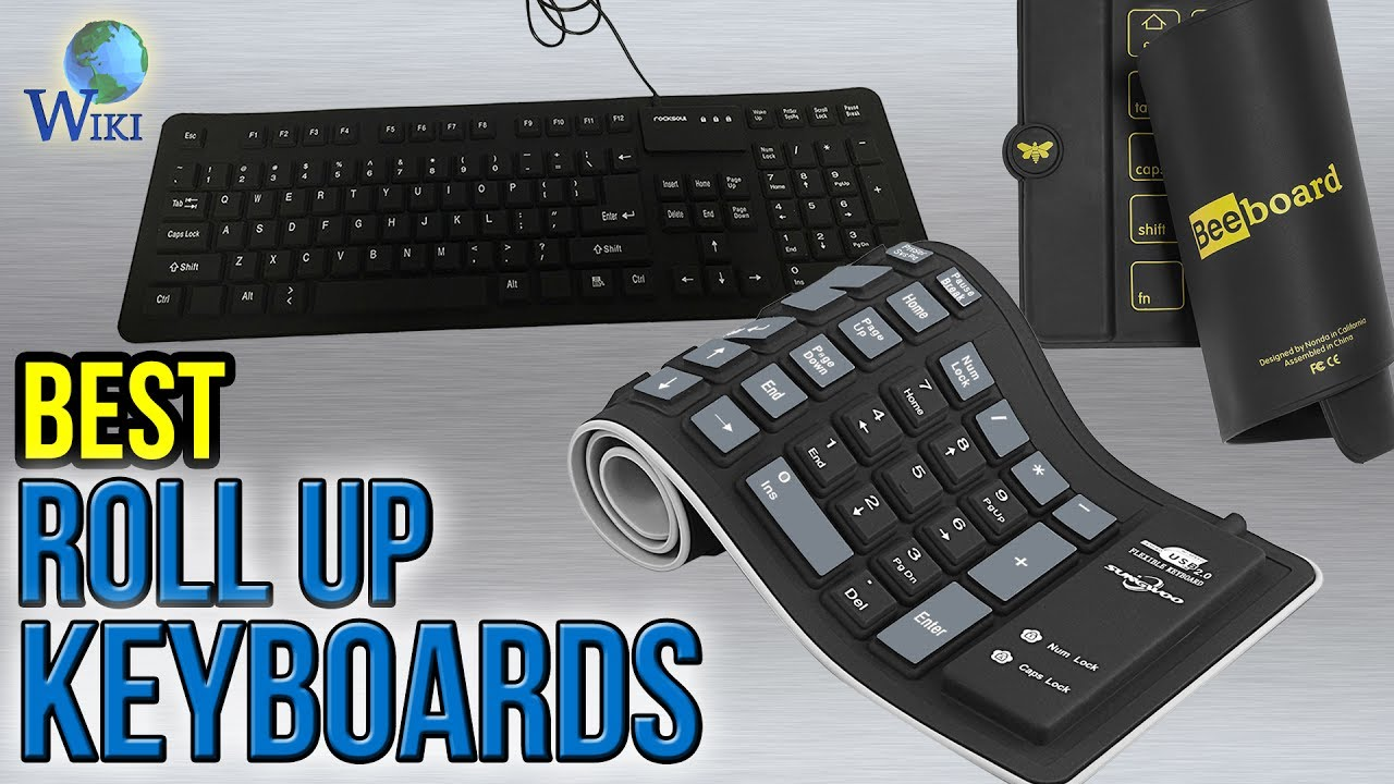 6 Best Roll Up Keyboards 2017