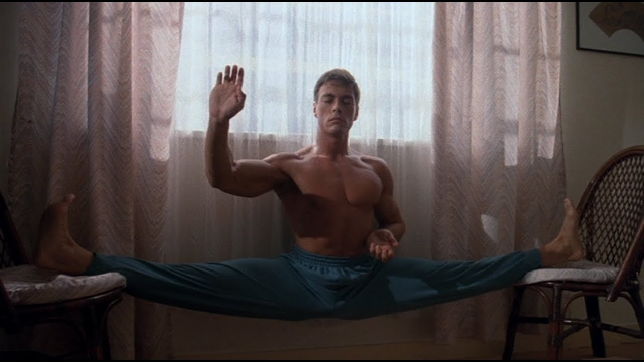 Jean claude van damme ass