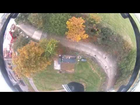 Ashbys windmill Mill Brixton hill sphere by drone injected