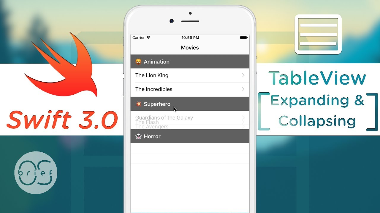 TableView - Expand/Collapse Section : Swift 3
