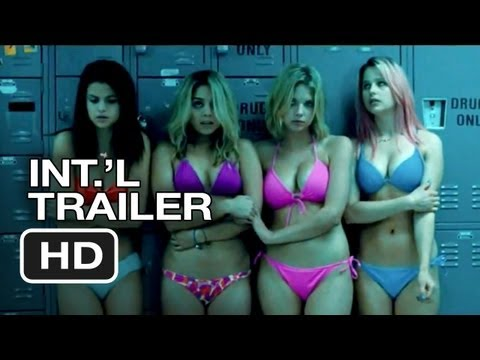Spring Breakers Official International Trailer #1 (2013) - James Franco Movie HD