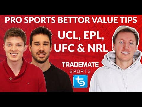 (+$212) Value Betting Tips for Champions League, EPL, NRL & UFC ft. Pro Sports Bettor Jonas Gjelstad
