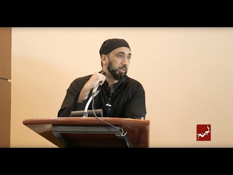 The Sincere Struggle for Allah - Khutbah by Nouman Ali Khan