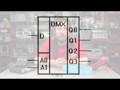 Аналоги логических микросхем (К155 - SN74, К555 - 74LS