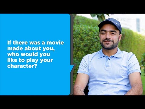 25 questions with Rashid Khan