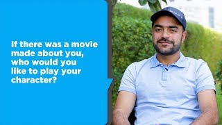 25 questions with Rashid Khan