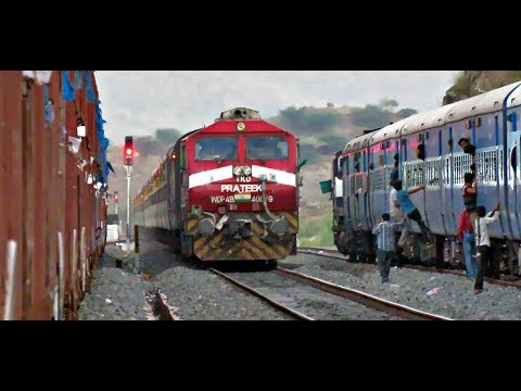 AHMEDABAD to AJMER : Complete Train Journey | Diesels & Double Stacks Unlimited