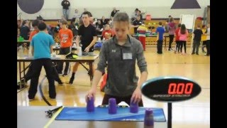 The 13th Annual Eastern Pennsylvania Sport Stacking Tournament! Sheldon Stacking