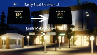 Roblox - Electric State DarkRP | How To Steal People's Shipments! (Spy Watch Oof)
