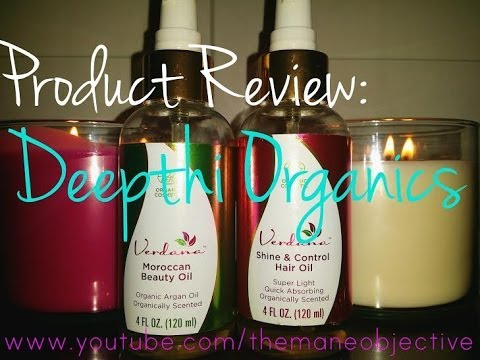 Deepthi Organics Review: Shine & Control Hair Oil, Moroccan Beauty Oil