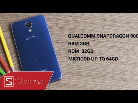 Schannel HCM - Mở hộp Samsung Galaxy J màu xanh