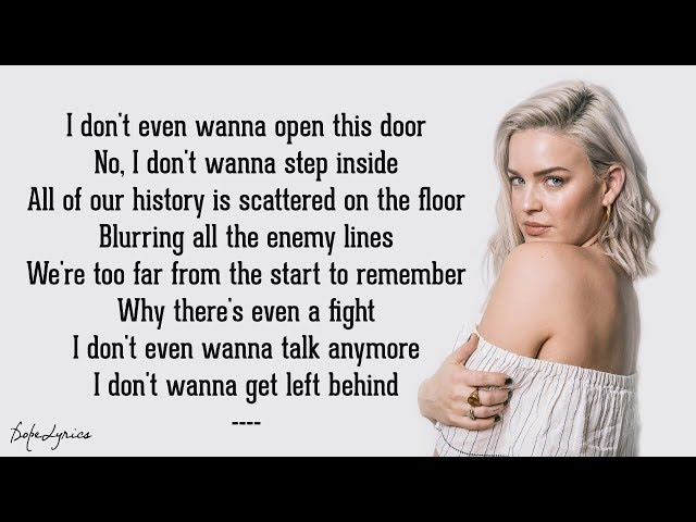 Anne-Marie - Trigger (Lyrics)