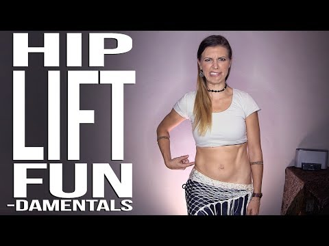 HOW TO DO A HIP LIFT | HIP LIFT & HIP DROP | ISOLATED HIP LIFT | BELLYDANCE TUTORIAL | TRIBAL FUSION