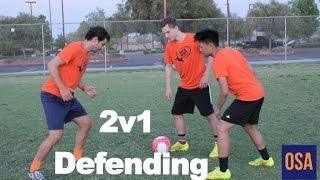 How To Defend 2 v 1