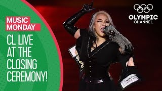 Download Video CL Full Live Performance at the PyeongChang 2018 Closing Ceremony | Music Monday MP3 3GP MP4