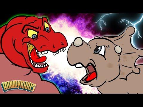 Dinosaur Story Season 1 Singalong | Dinostory | Dinosaur Songs for Kids from Howdytoons