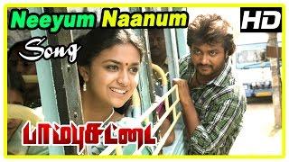 Paambhu Sattai Movie Scenes   Bobby falls for Keerthi   Neeyum Naanum song   Muktha