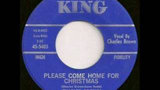 Watch Charles Brown Please Come Home For Christmas video